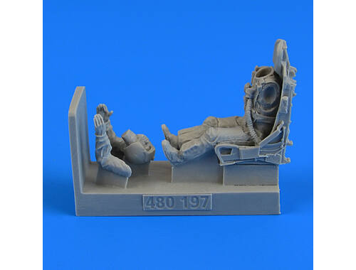 Aerobonus USAF Fighter Pilot with ejection seat for F100C/D 1:48 (480197)