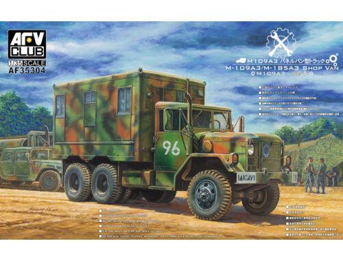AFV Club M109A3 VAN SHOP (Van body with internal structure) 1:35 (AF35304)