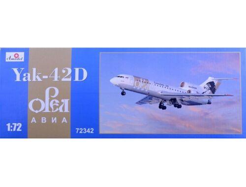 Amodel Yak-42D Orel Avia 1:72 (72342)
