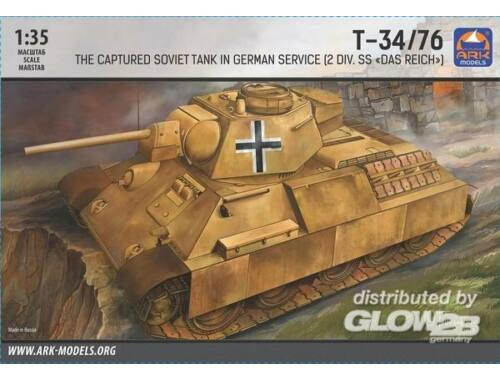 ARK Model T-34-76 in German service (2-nd SS 1:35 (35041)