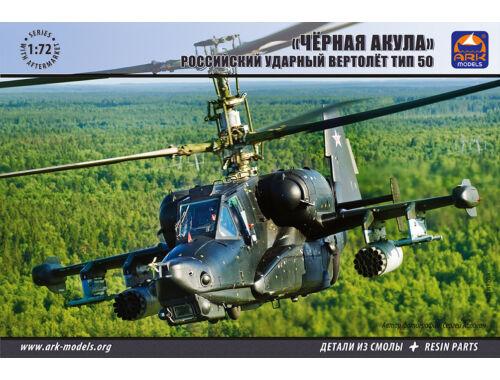"ARK Model Kamov Ka-50""Black Shark""Russian attack helicopter 1:72 (72040)"