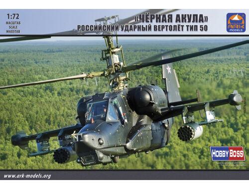 "ARK Model Kamov Ka-50""Black Shark""Russian attack helicopter 1:72 (72044)"