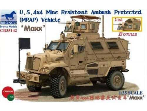 Bronco M1224 MaxxPro MRAP 1:35 (CB35142)