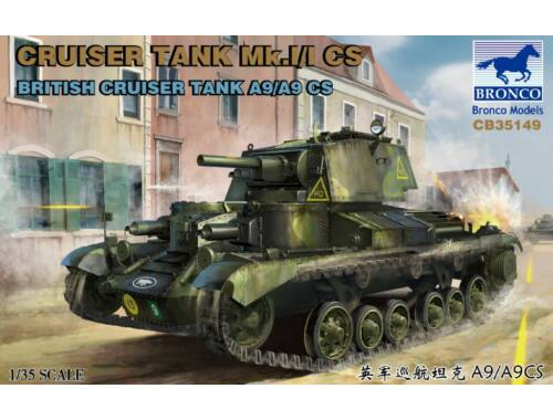 Bronco Cruiser Tank Mk.I/ICS A9/A9CS 1:35 (CB35149)