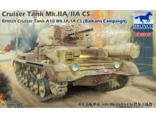 Bronco Cruiser Tank Mk.IIA/IIA CS A10 Mk.IA/IA CS 1:35 (CB35151)