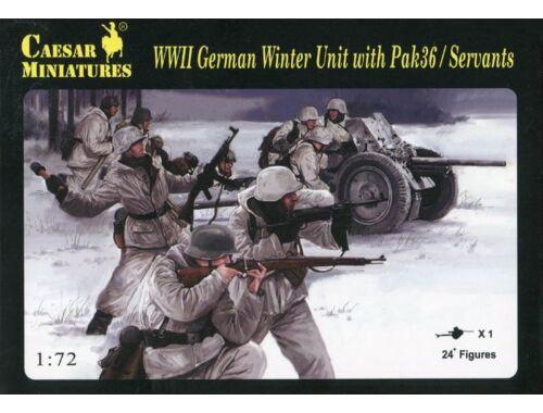 Caesar Winter Unit with Pak36 / Servants 1:72 (H097)