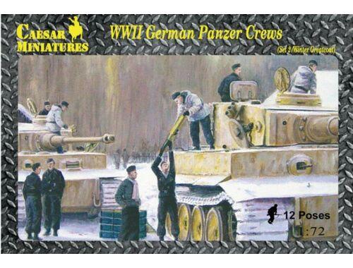 Caesar WWII German Panzer Crews (Sets2) 1:72 (HB05)