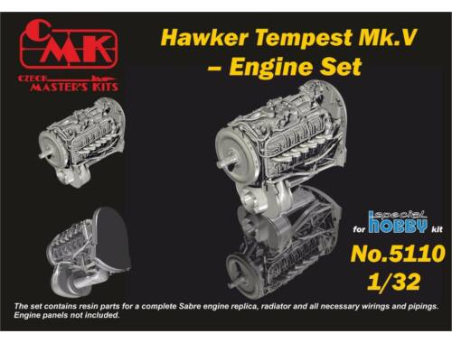 CMK 1/32 Tempest – Engine Set for Special Hobby kit 1:32 (5110)