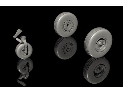 CMK Tucano T.1 – Wheels Set / for Airfix kit 1:72 (Q72285)