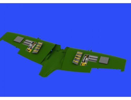 Eduard Spitfire Mk.IXe gun bays for EDUARD 1:48 (648334)