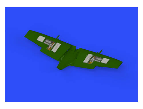 Eduard Spitfire Mk.IXe gun bays for EDUARD 1:72 (672153)