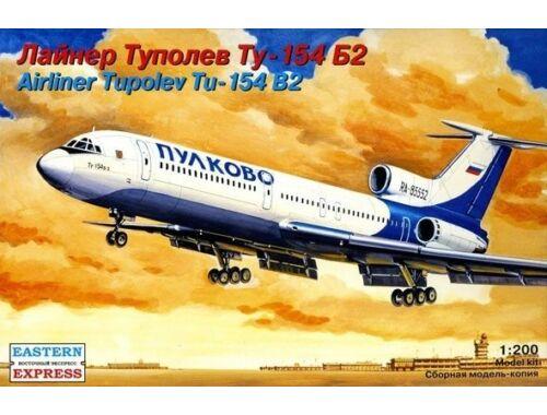 Eastern Express Tupolev Tu-154B-2 Russian medium-haul, airliner, Pulkovo 1:200 (14407)