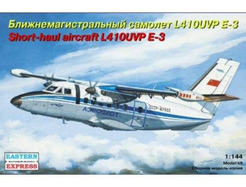 Eastern Express Let L-410UVP E3 short-haul aircraft, Aeroflot 1:144 (144100)
