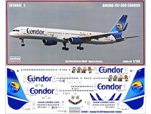 Eastern Express Boeing 757-300 Thomas Cook/Condor Limite Edition) 1:144 (1444701)