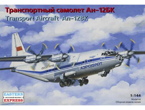 Eastern Express Antonov AN-12BK Russian transport aircra Aeroflot 1:144 (14487)