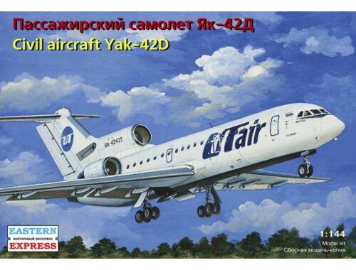 Eastern Express Yakovlev Yak-42D Russian medium-haul 1:144 (14494)
