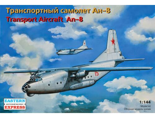 Eastern Express Antonov An-8 Russian military transport 1:144 (14496)