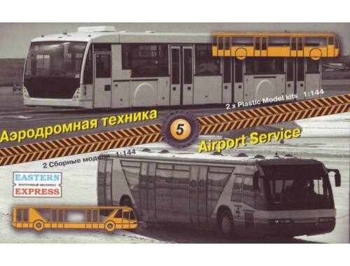 Eastern Express Airport service set No.5 (apron buses) 1:144 (14604)