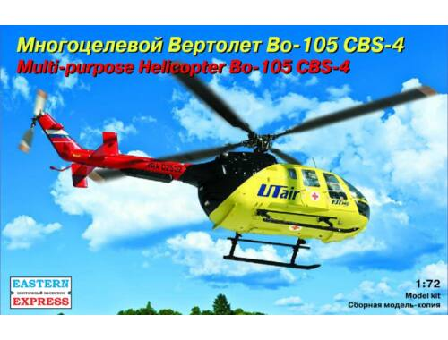 Eastern Express Messerschmitt-Bölkow-Blohm BO-105 CBS-4 Utair 1:72 (72143)