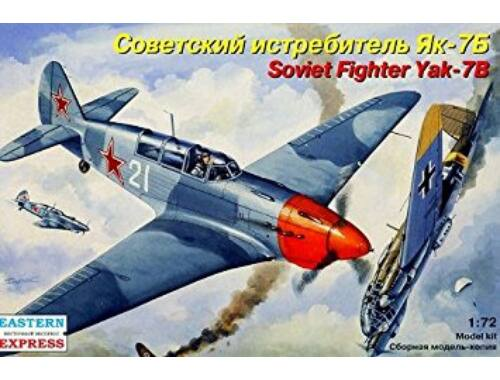 Eastern Express Yakovlev Yak-7B Russian fighter 1:72 (72220)