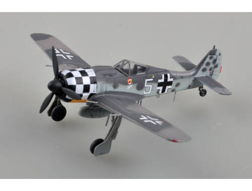"Easy Model FW190A-6,""white 5"",Uffz Rudolf Hubl.I./ JG1,July 1943 1:72 (36401)"