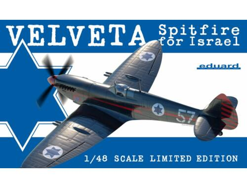 Eduard Velveta / Spitfire for Israel LIMITED EDITION 1:48 (11111)