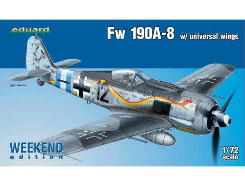 Eduard Fw 190A-8 w/ universal wings WEEKEND edition 1:72 (7443)