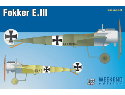 Eduard Fokker E.III WEEKEND edition 1:72 (7444)