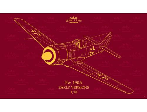 Eduard Fw 190A early versions ROYAL Class 1:48 (R0016)