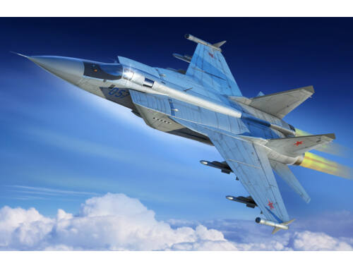 Hobby Boss Russian MiG-31M Foxhound 1:48 (81755)