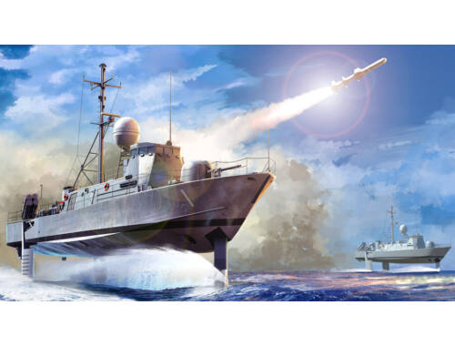 Hobby Boss USS Pegasus PHM-1 1:700 (82005)