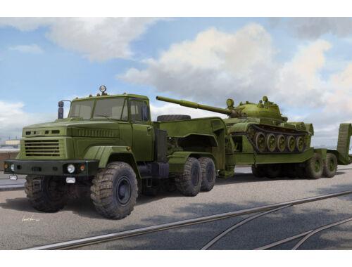 Hobby Boss Ukraine KrAZ-6446 Tractor w.MAZ/ChMZAP- 5247G semitrailer 1:35 (85513)
