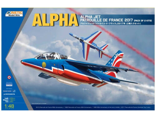 Kinetic Alpha Jet Pack of 2 kits 1:48 (48064)