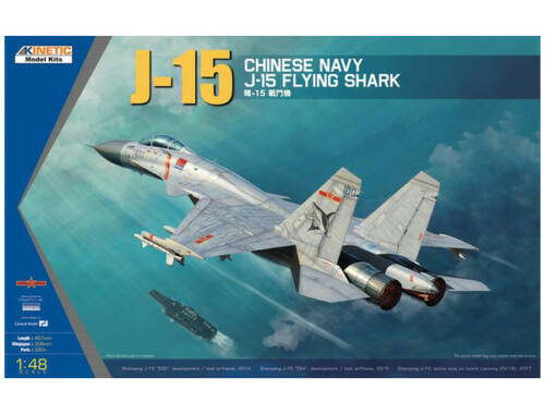 Kinetic J-15 Chinese Naval Fighter 1:48 (48065)