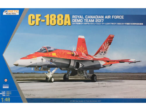 Kinetic CF-188A DEMO TEAM 1:48 (48070)