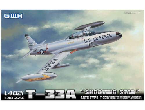 "Lion Roar T-33A Late Version""Shooting Star"" USAF 1:48 (L4821)"