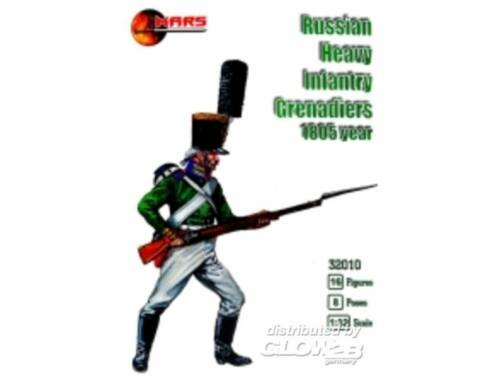 Mars Russian heavy infantry grenadiers,1805ye 1:32 (32010)