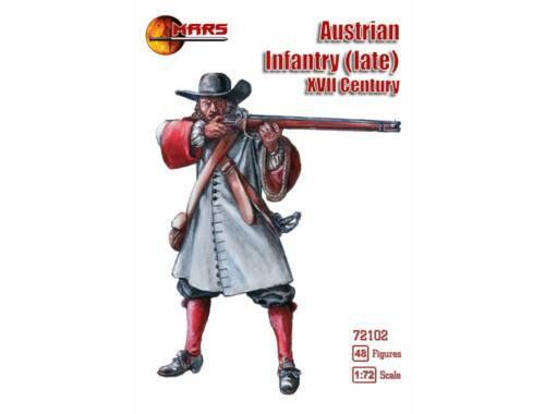 Mars Austrian infantry(late), XVII century 1:72 (72102)