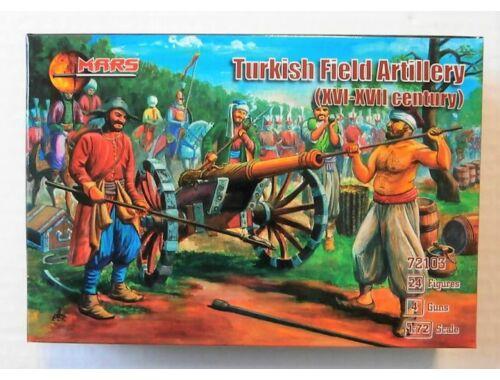 Mars Turkish field artillery,XVI-XVII century 1:72 (72103)