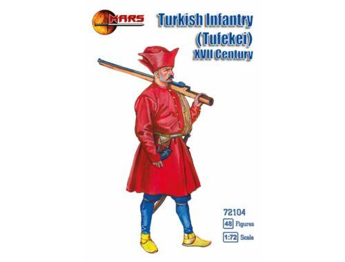 Mars Turkish infantry (Tufekei),XVII century 1:72 (72104)