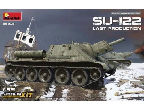 Miniart SU-122 (Last Production) Interior Kit 1:35 (35208)