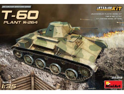 Miniart T-60(Plant No.264,Stalingrad)InteriorKit 1:35 (35219)