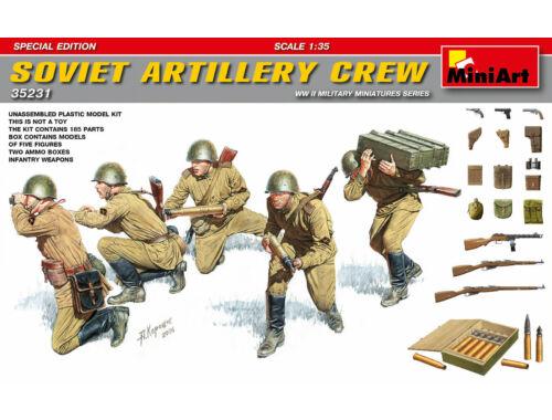 Miniart Soviet Artillery Crew.Special Edition 1:35 (35231)