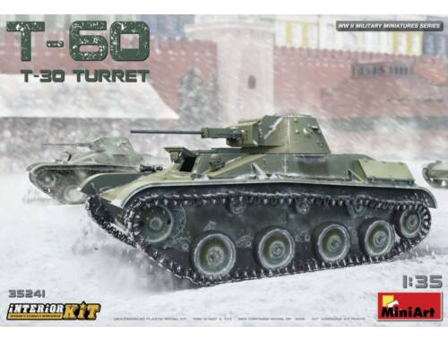 Miniart T-60 (T-30 Turret) Interior Kit 1:35 (35241)