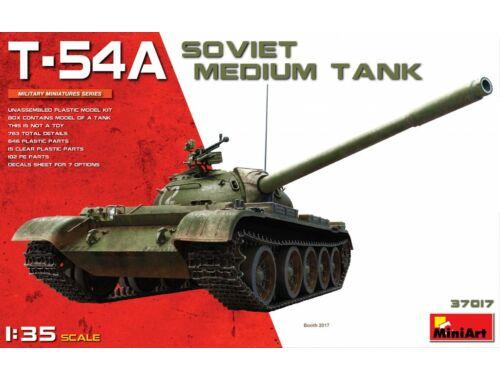 Miniart T-54A Soviet Medium Tank 1:35 (37017)