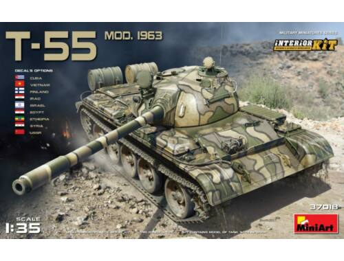 Miniart T-55 Mod. 1963 Interior Kit 1:35 (37018)