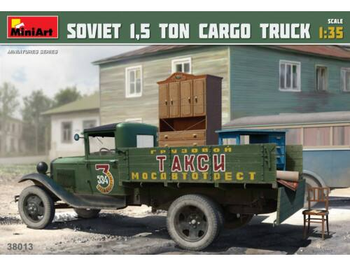 Miniart Soviet 1,5 ton Cargo Truck 1:35 (38013)