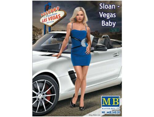 Master Box Sloan-Vegas Baby 1:24 (24020)