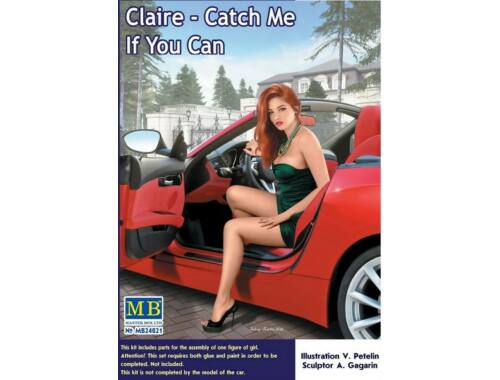 Master Box Claire -Catch Me4 If You Can 1:24 (24021)