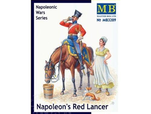 Master Box Napoleon's Red Lancer, Napoleonic Wars S Serie 1:32 (3209)